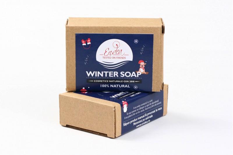 Winter Soap - Săpun special de iarnă   Endea - Tested on friends