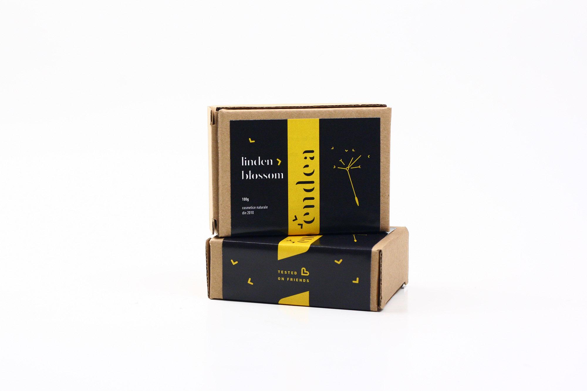 Săpun natural de primăvară cu parfum de tei - Promo cu 20% reducere
