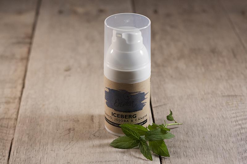 Aftershave (cremă de barbă) hidratant cu ulei de jojoba şi cânepă - Iceberg