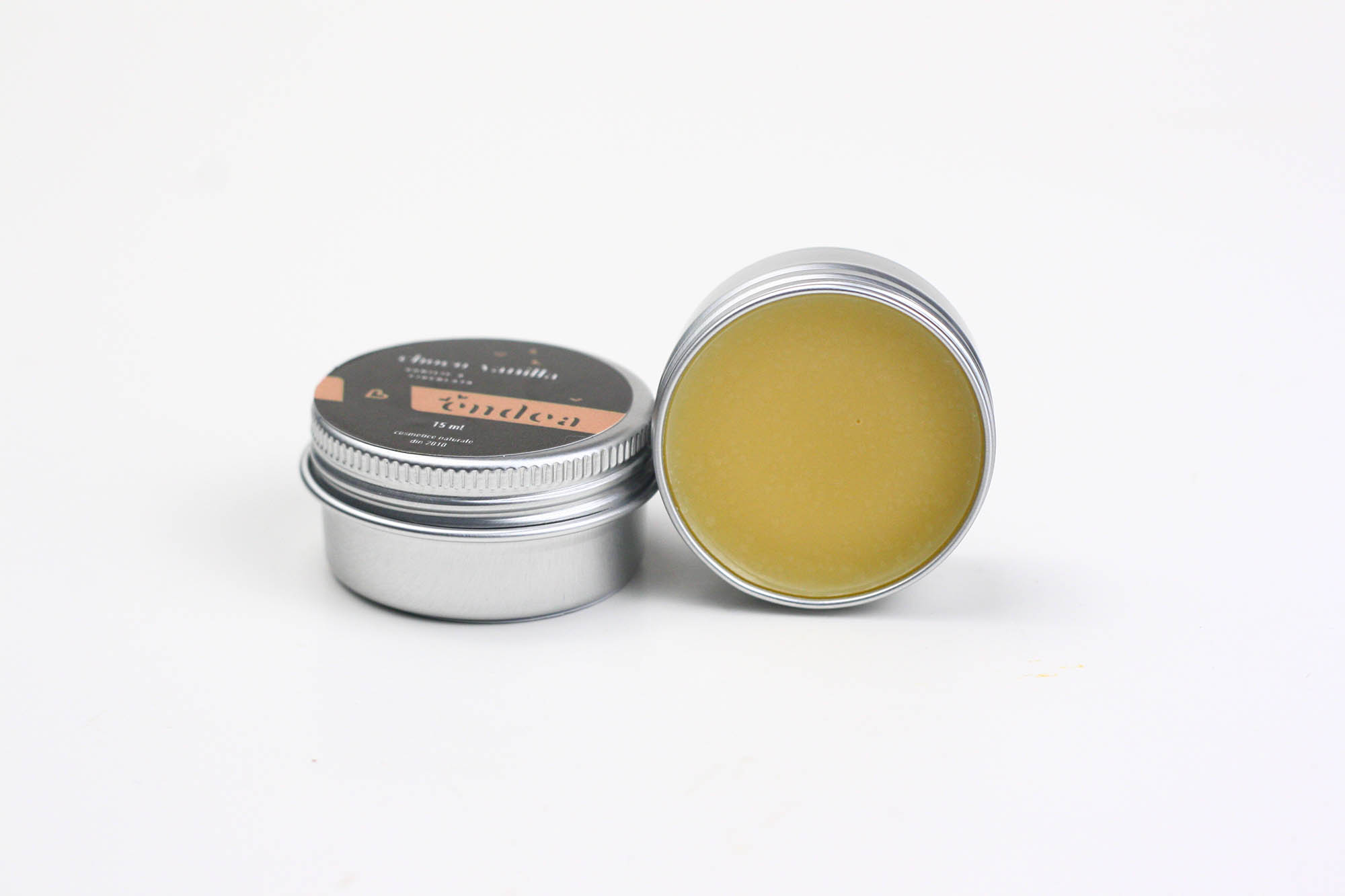Balsam de buze natural cu vanilie & ciocolată - Choco Vanilla Balm - 15ml | Endea - Tested on friends