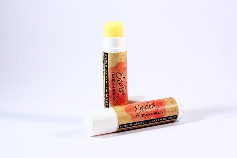 Balsam de buze natural cu vanilie & ciocolată - Choco Vanilla Balm