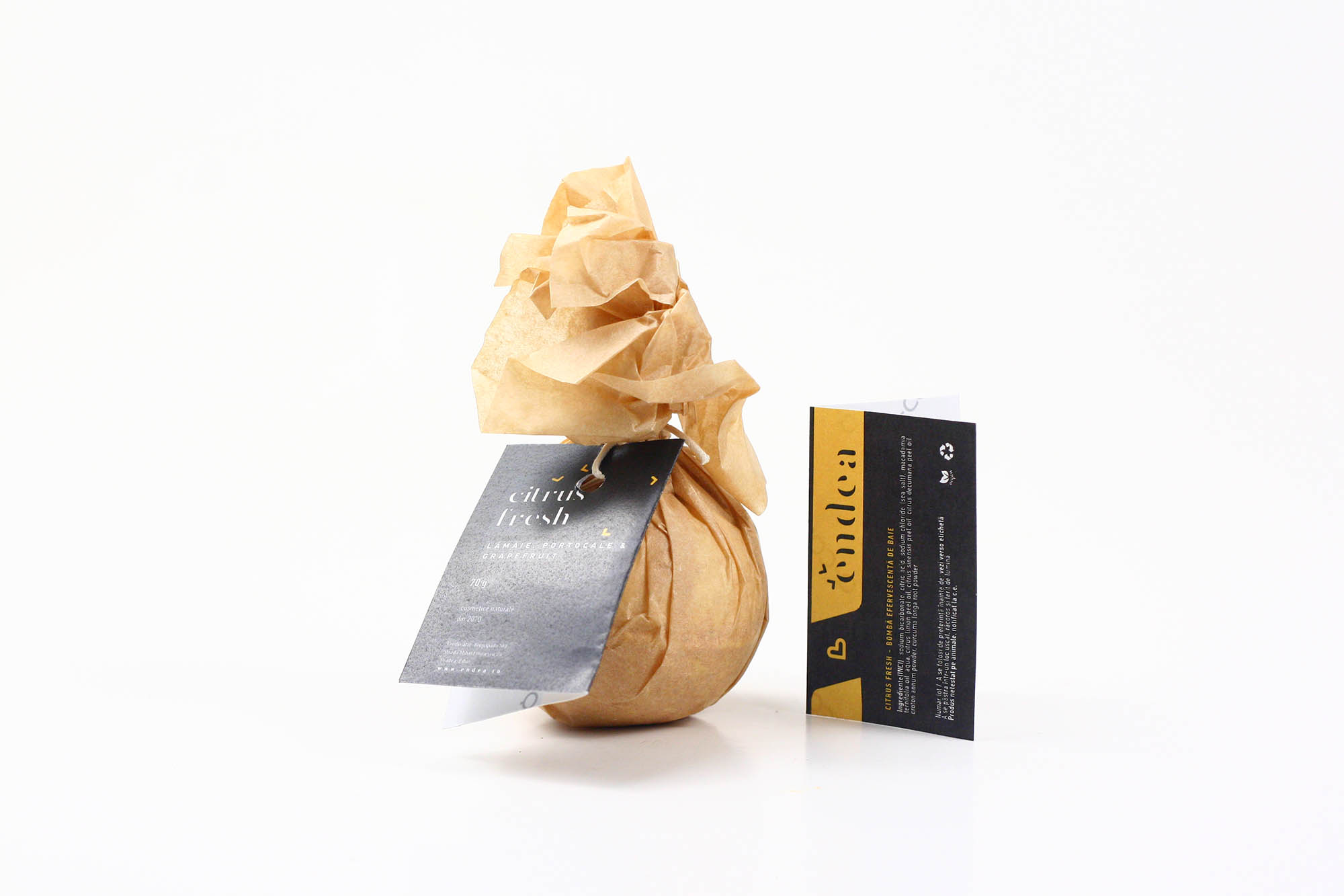 Citrusfresh - Bombe efervescente cu aromă de citrice | Endea - Tested on friends