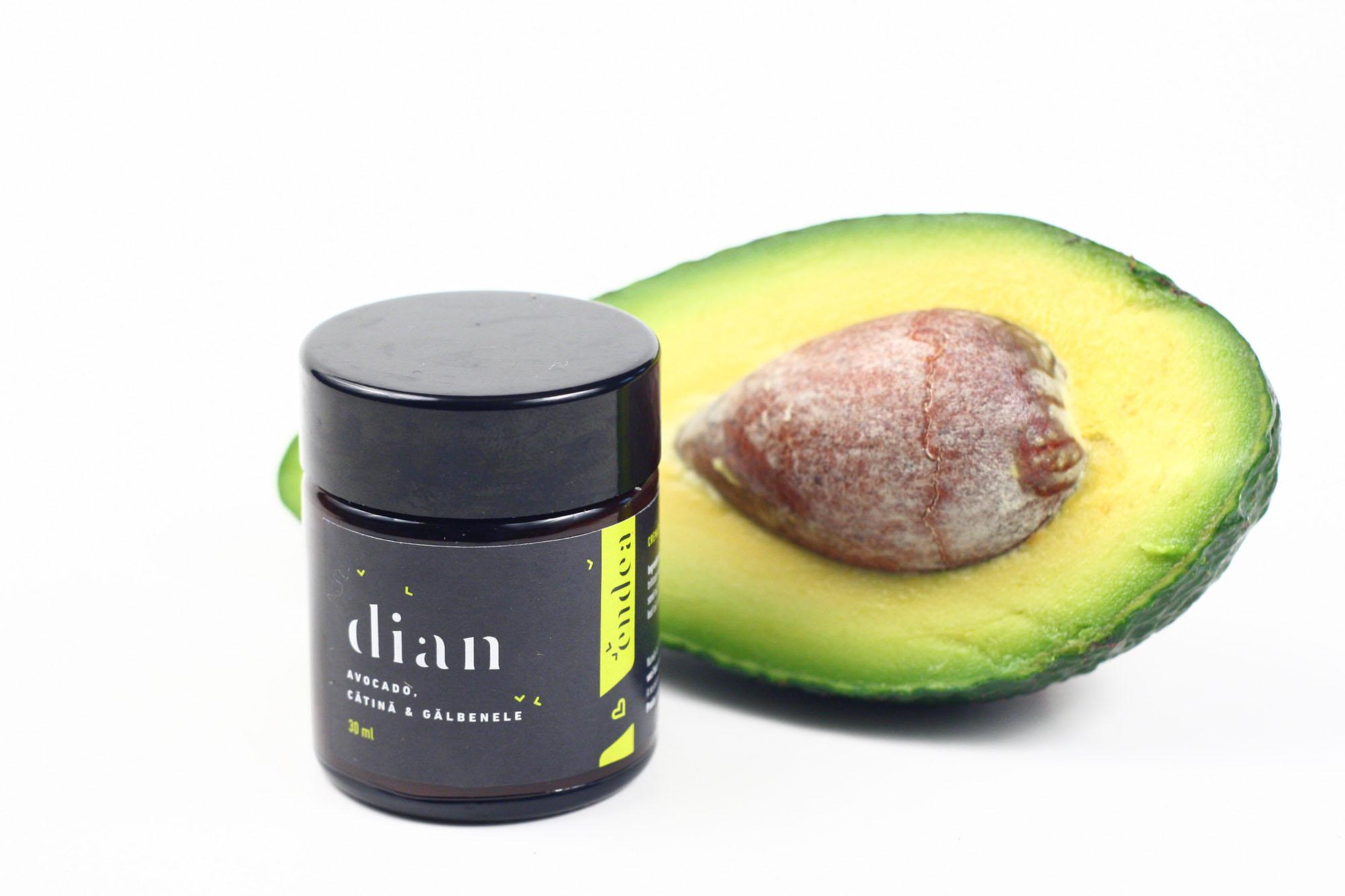 Balsam cremă naturală reparatoare & cicatrizantă cu gălbenele, shea & borago - Dian   Endea - Tested on friends