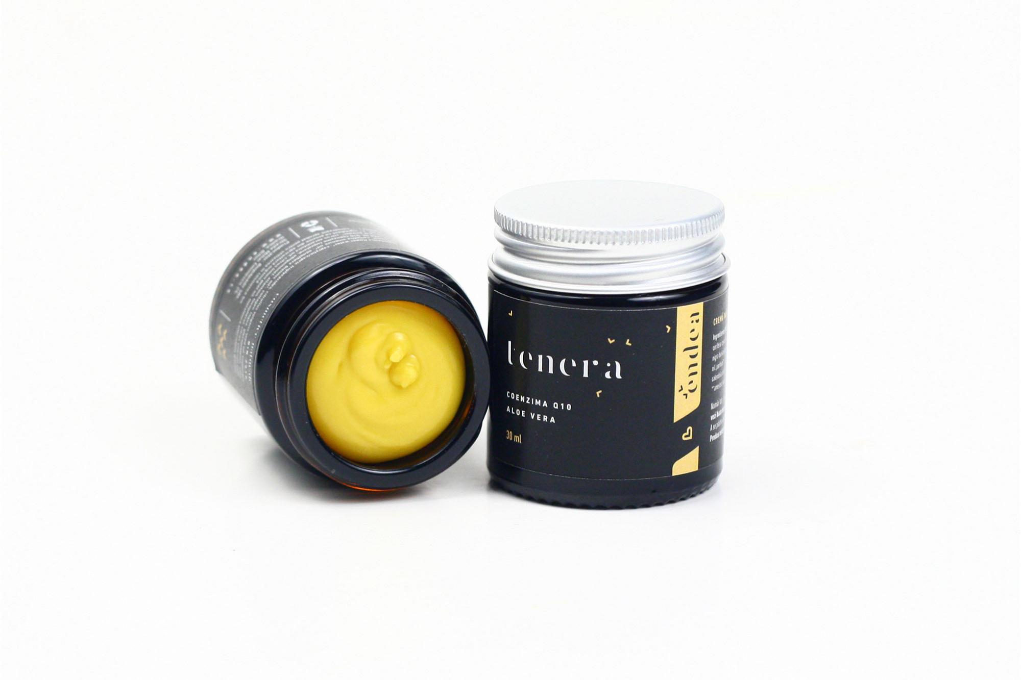 Cremă naturală de mâini cu aloe vera și coenzima Q10 - Tenera | Endea - Tested on friends