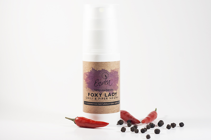 Cremă naturală anticelulitică - Foxy Lady | Endea - Tested on friends