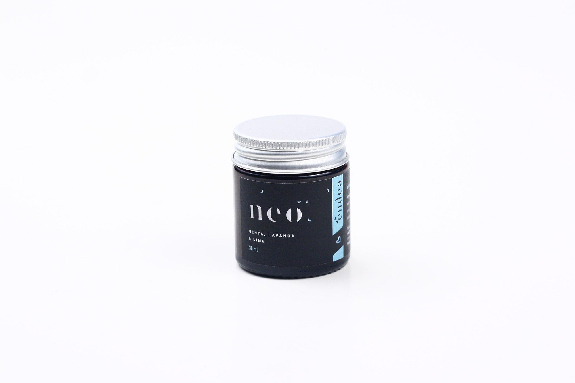 Deodorant natural cremă cu lavandă, mentă și lime - NEO