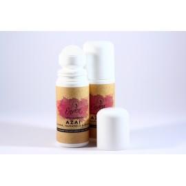 Deodorant roll natural Azai cu piatră de alaun, lămâie & ghimbir