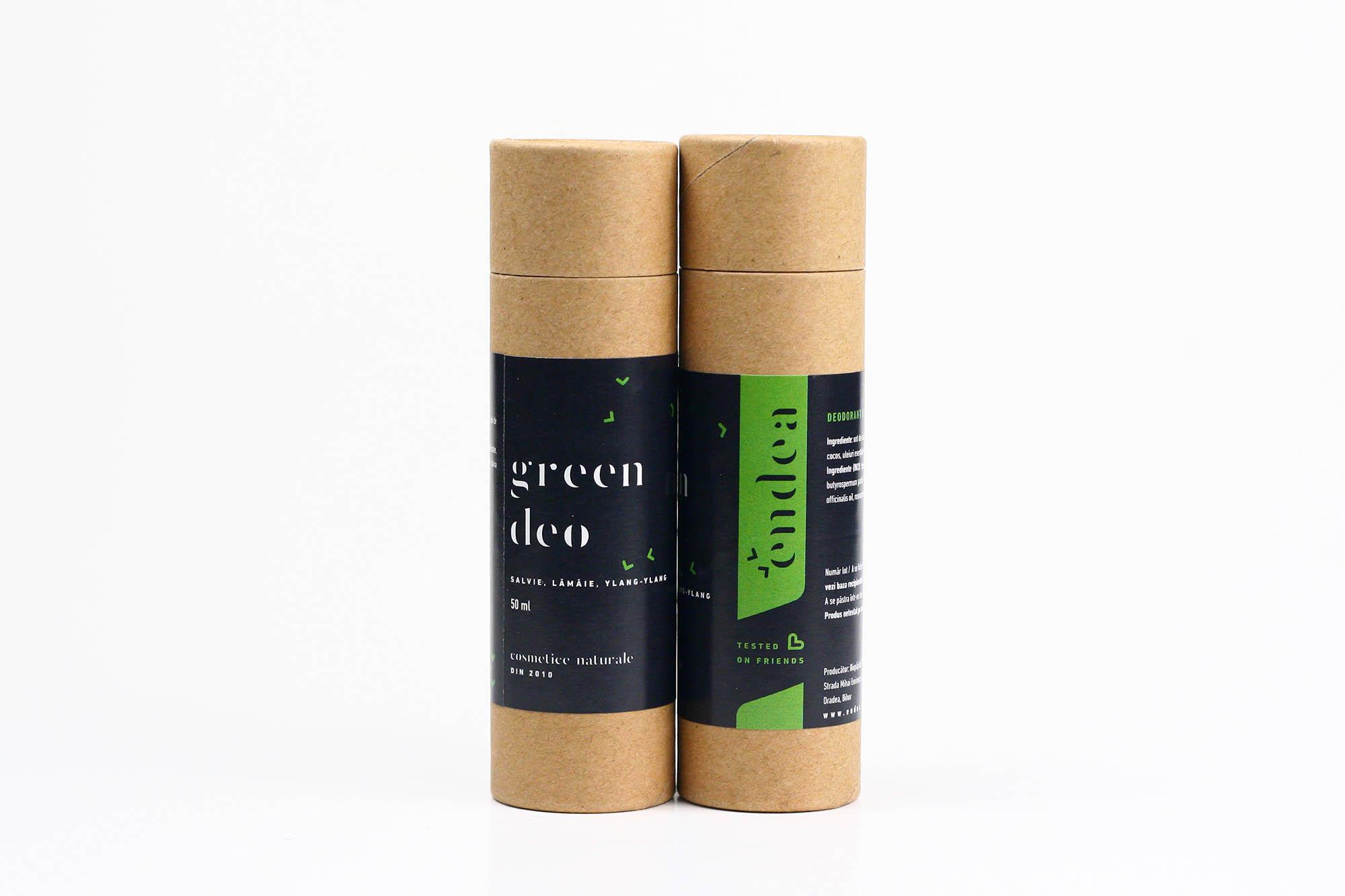 Deodorant natural unisex cu salvie - Green Deo Stick | Endea - Tested on friends