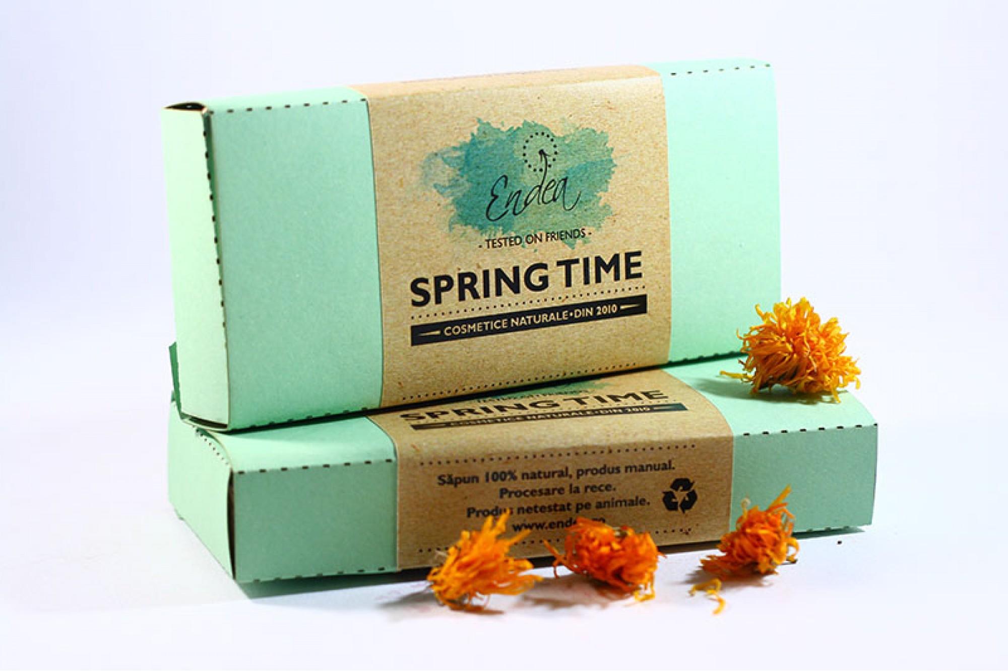 Spring Time - Set de 4 săpunele cu aromă de primăvară | Endea - Tested on friends