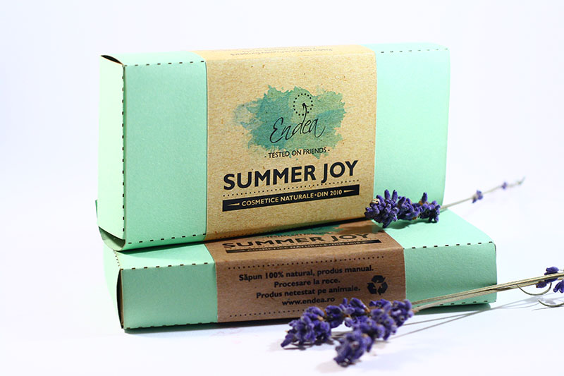Summer Joy - Set de 4 săpunele cu arome vesele de vară | Endea - Tested on friends