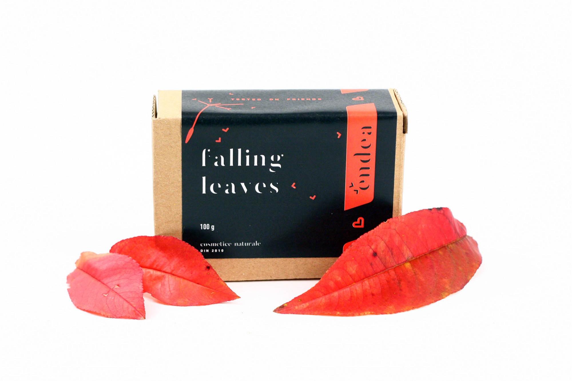 Săpun natural de toamnă promo cu 20% reducere - Falling Leaves