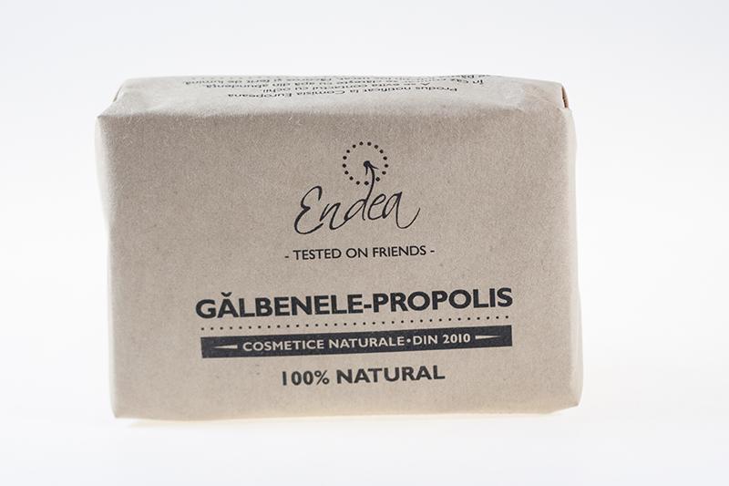 Săpun antibacterian cu gălbenele & propolis - Endea