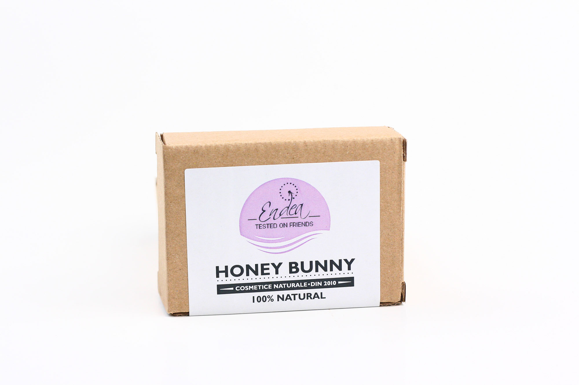 Săpun hidratant cu miere & lapte de capră - Honey Bunny | Endea - Tested on friends