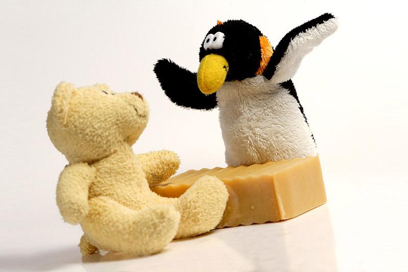 Săpun fin şi hidratant pentru copii - Baby Soap | Endea - Tested on friends