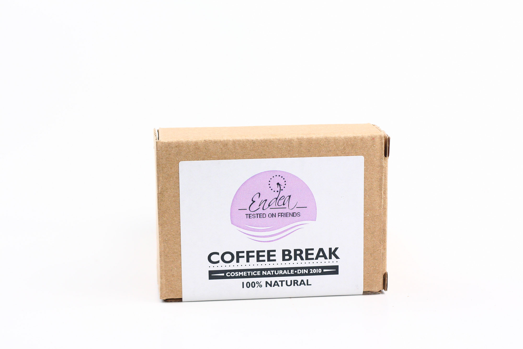 Săpun natural cu cafea şi efect puternic de exfoliere - Coffee Break | Endea - Tested on friends