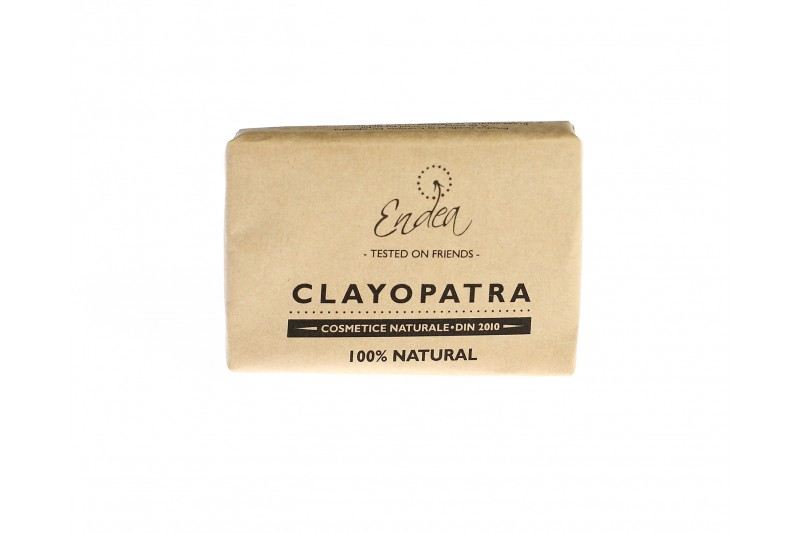 Săpun fin şi cremos cu argilă pentru față - Clayopatra | Endea - Tested on friends