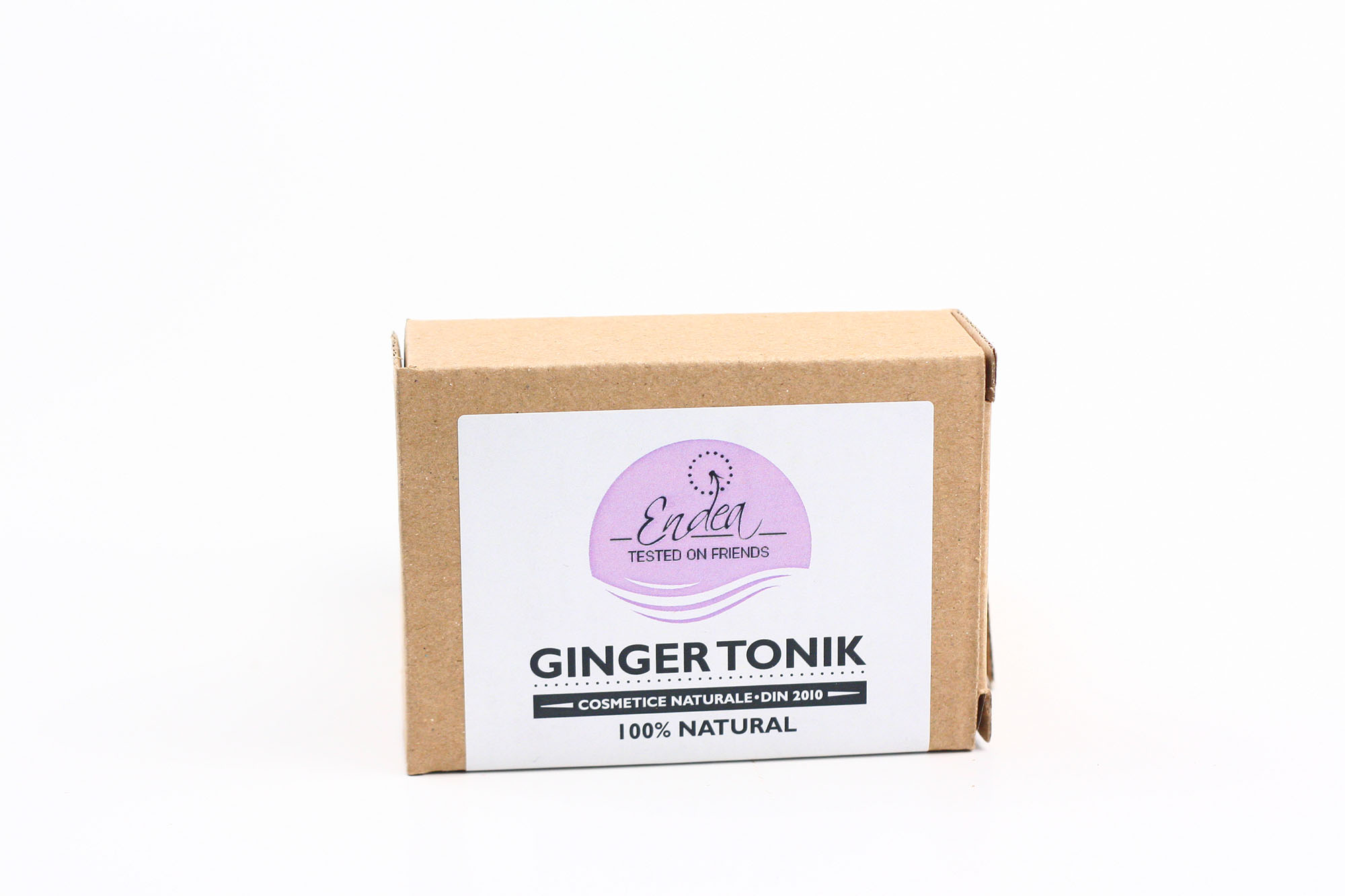 Săpun revigorant & hidratant cu ghimbir, lime & mentă - Ginger Tonik | Endea - Tested on friends