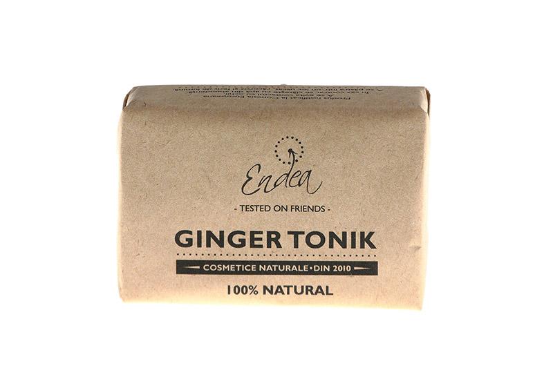 Săpun revigorant & hidratant cu ghimbir, lime & mentă - Ginger Tonik | Endea - Tested on friends