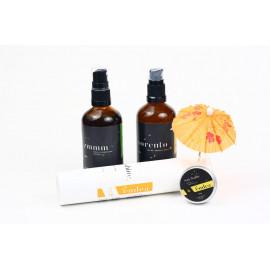 Set cosmetice naturale protecție solară și contra insectelor - Sunny Summer