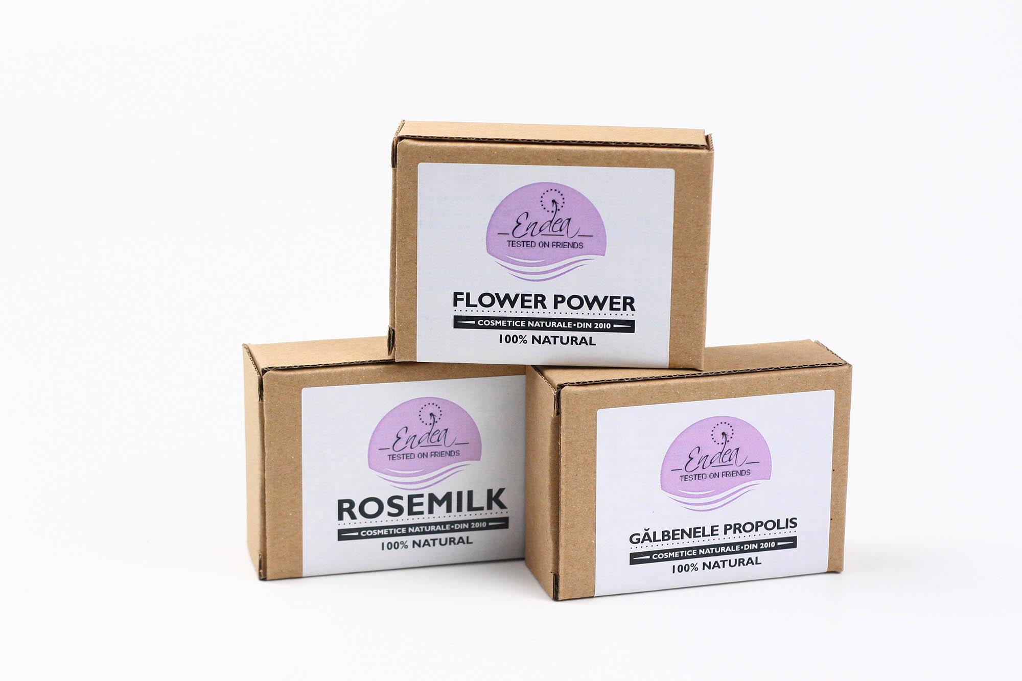 Set de săpunuri naturale - In Bloom