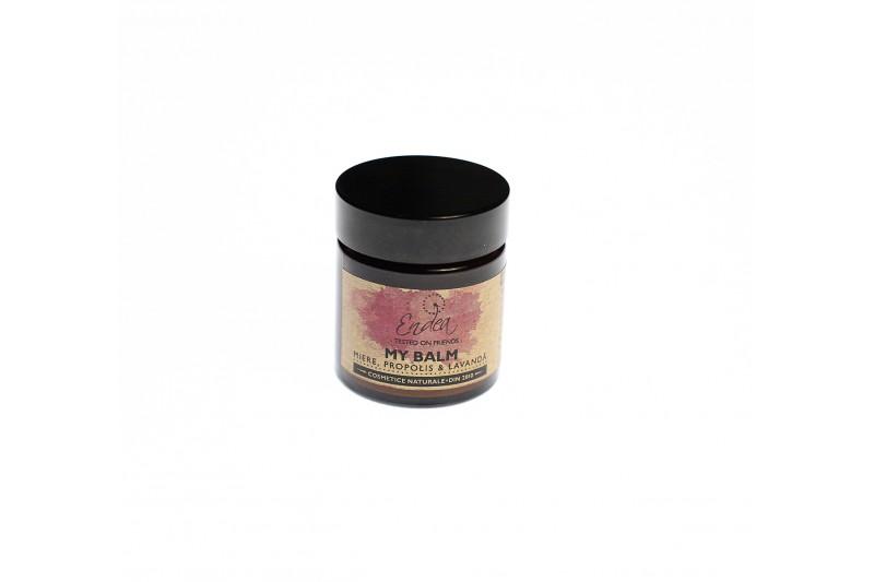 Balsam cu miere, propolis & lavandă