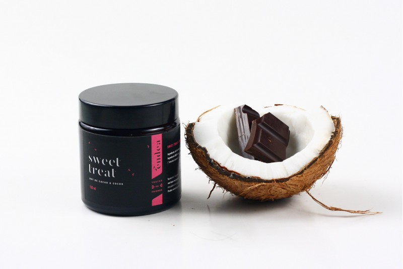 Unt de corp dulce, hidratant, cu cocos & cacao - Sweet Treat | Endea - Tested on friends