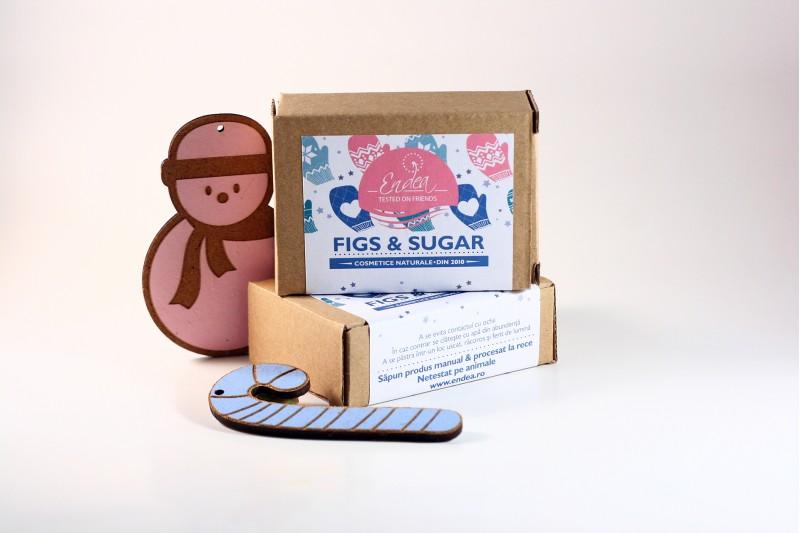 Săpun Figs & Sugar cu specific de Crăciun